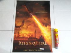 Poster Original REIGN OF FIRE Limited Edition 2002