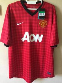 Authentic Manchester United 12/13 Home Jersey