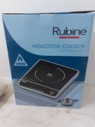 Rubine induction cooker (new) with cooking pot