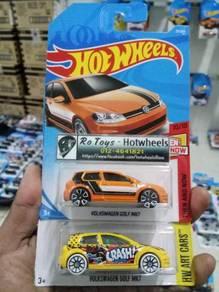 Lot Hotwheels Volkswagen Golf MK7