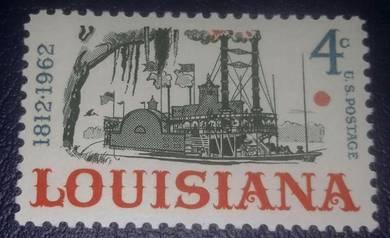 US Postage Louisiana Statehood Sesquicentennial 46