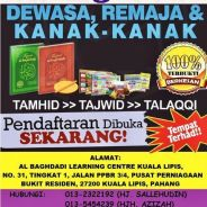 Al Baghdadi Learning Centre Kuala Lipis