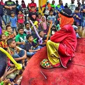 Malacca clown , Badut Melaka