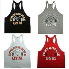 Power gym house singlet baju