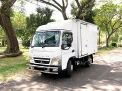 NEW lorry Mitsubishi Fuso FE71PB 1tan Box 10kaki