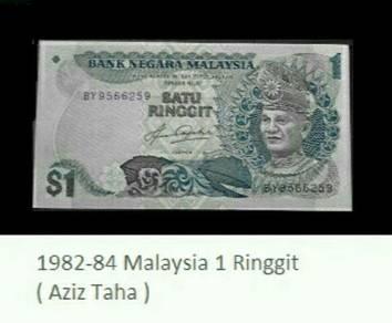 Duit kertas satu ringgit Malaysia
