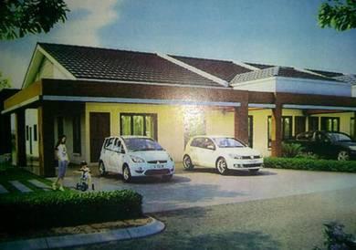 4 Bedroom single storey terrace intermediate and corner Senadin -Miri