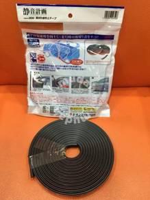 Car door panel sound proof rubber seal stripe