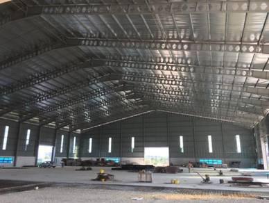 3.6 acres warehouse, pandamaran, klang