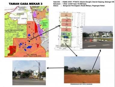 Tanah Petrol Pump untuk Dijual di Sg Merab, Bangi -Below Market Value