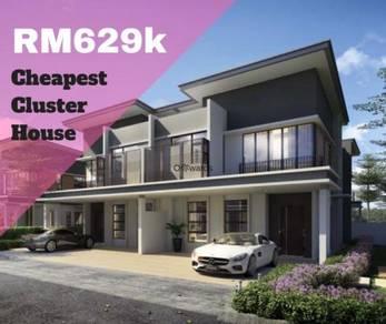 [ New Project ] Cheapest Cluster House At Taman Denai Alam Masai JB