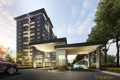 Cheras Sg long new apartment ,0 head period %10% rebate and Rebate 20k