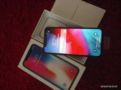 New Iphone X 256GB Black