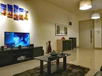 Skycube Residence Condo Relau Full Furnish Reno Nice Design High Floor