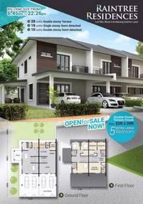 Full Loan Big Double Storey Corner at Matang