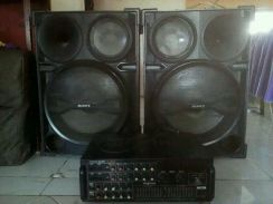 Set Speaker Kondisi 9/10