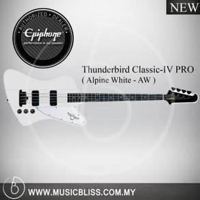 Epiphone Thunderbird Classic-IV PRO Bass Guitar-AW