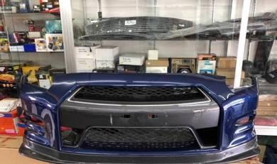 R35 DBA Facelift Bumper LED Daylight GTR GTR35 CF