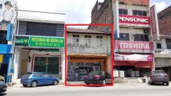 Double Storey Shop at Kampar Main Road