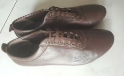 Leather Shoes Lace up Formal Working Shoes
