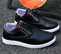 Men Leather Casual Outdoor Shoes