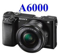 NEW Sony A6000 + 16-50mm Lens +16GB +Extra Battery