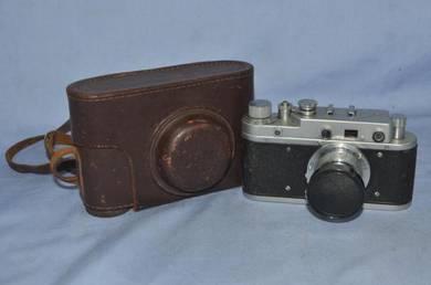 Antique zorki c leica copy camera from russia
