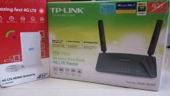 4G router tplink mr200 dual band