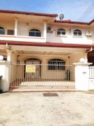 Double Storey Terrace Intermediate House at Senadin For Rent