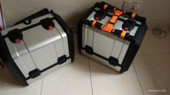 KTM Super Adventure panniers and top box