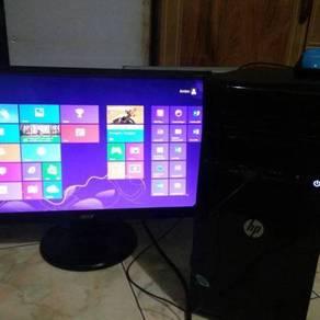 1Set-CPU Hp&Monitor; 20''