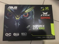 ASUS GTX 1060 6gb OC Strix