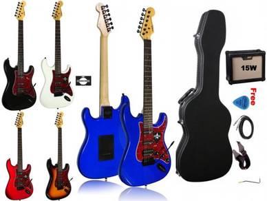 SQOE SEST230 SEST-230 Spain guitar(hardcase & AMP)