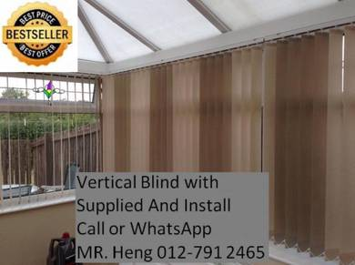 Design Vertical Blind - With install 34g43g