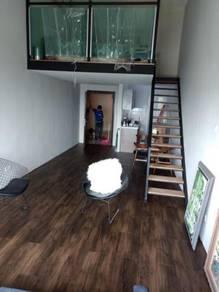 Vinyl Floor Lantai Timber Laminate PVC Floor Q321