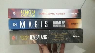 Novel Thriller Ramlee Awang Murshid