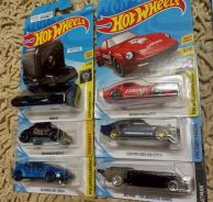 Hotwheels set of 6