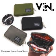 Japan Yoshida Quality Waterproof Zip Wallet