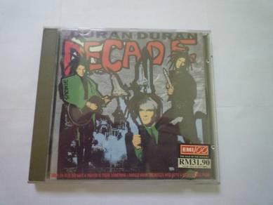 Decade by Duran Duran (Compilation Hits - CD)