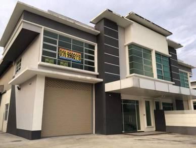 1.5 storey Semi-D Factory Hi Tech 6, Semenyih