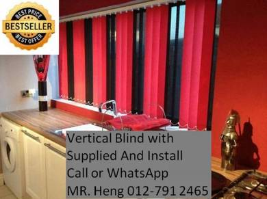 New Office Vertical Blind- with install 34g43