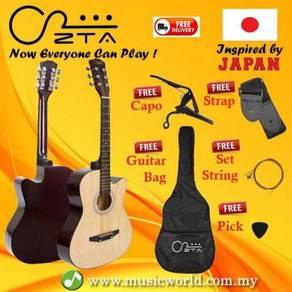 Zta acoustic guitar 38 inch