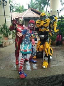Badut -clown - cosplay