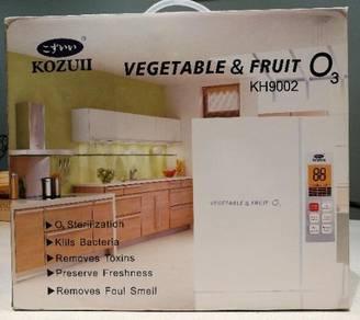 Kozui Ozone vegetable and fruit washer