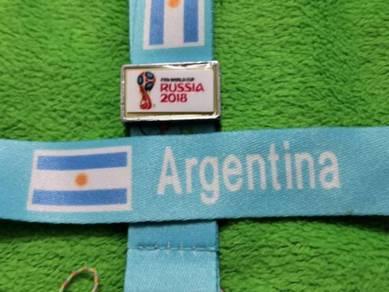 Tali Tag Piala Dunia 2018 - ARGENTINA
