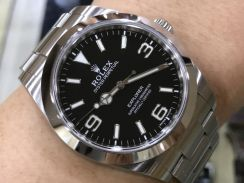 Rolex Explorer 39MM Year 2017 model -Swiss Hour