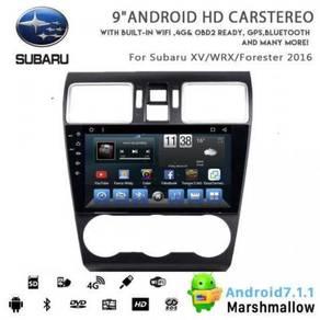 Subaru Xv/Wrx/Forester ANDROID 8, 4GB RAM IPS