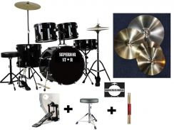 Superiorstar Junior PORTABLE Drum Set with cymbals