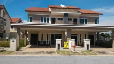 Ipoh Bercham Nova Semi D Cluster 2 Storey (New House) For Sale