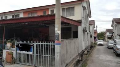 END LOT_Double Storey Terrace Taman Teluk Gedung Indah Klang
